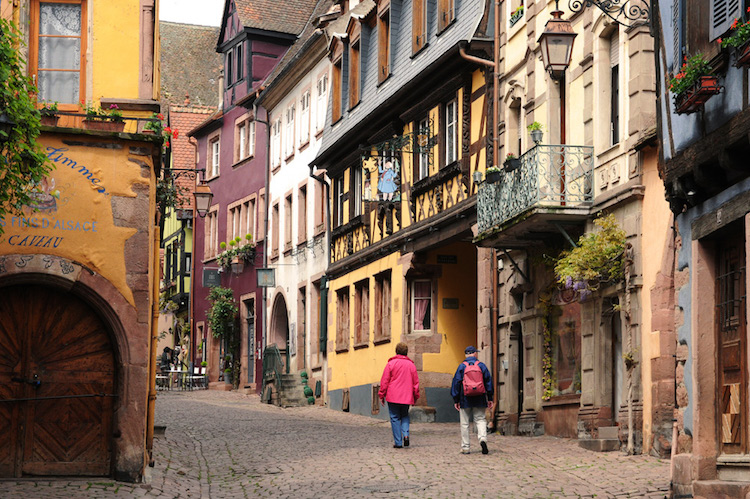 Riquewihr, France. Credit: uniworld.com.