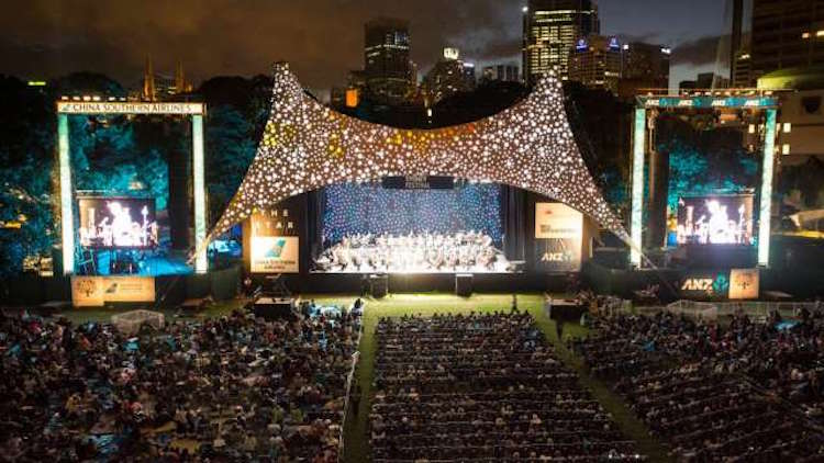 Symphony in the Domain. Photo supplied.