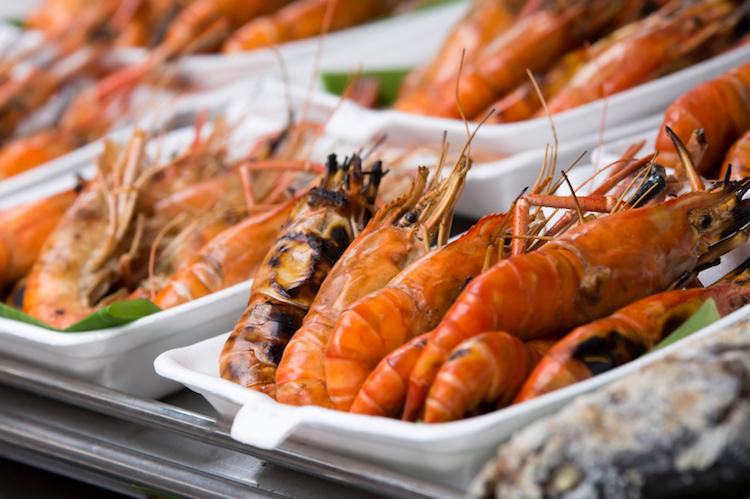 Tropical seafood. Credit: iStock.com