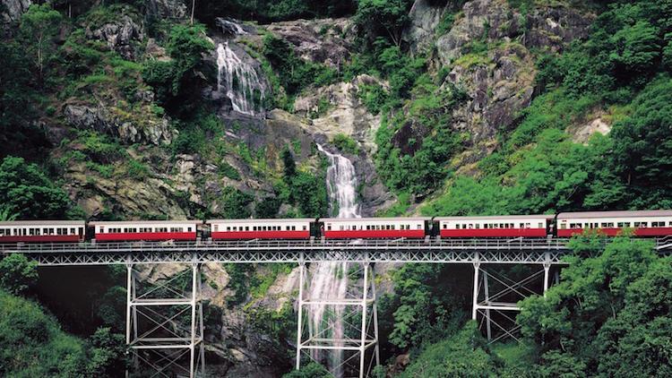 Kuranda Scenic Railway. Credit: Tourism & Events Queensland
