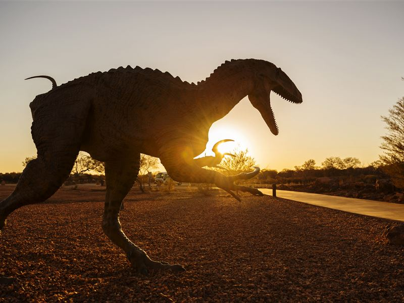 The Australian Age of Dinosaurs Museum, Winton, Queensland. Credit: queensland.com