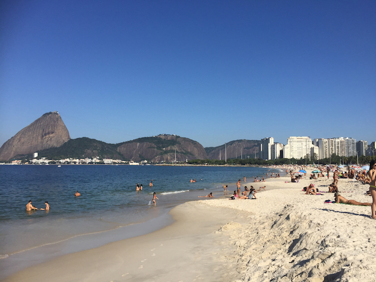Flamengo beach. Photo: Laura McQuillan