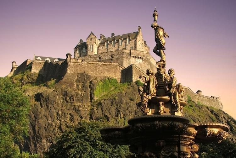 Edinburgh Castle. Credit: iStock.com.