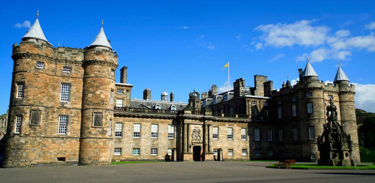 Holyrood Palace. Credit: iStock.com.