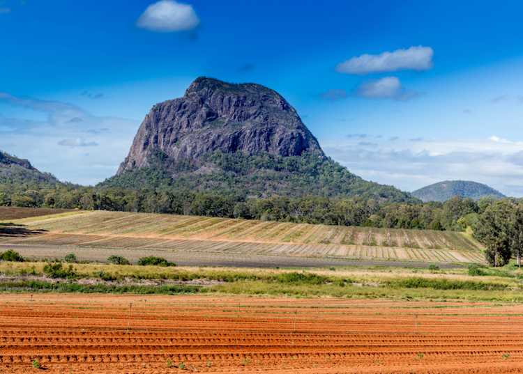 The Glasshouse Mountains, Sunshine Coast. Photo: iStock.com