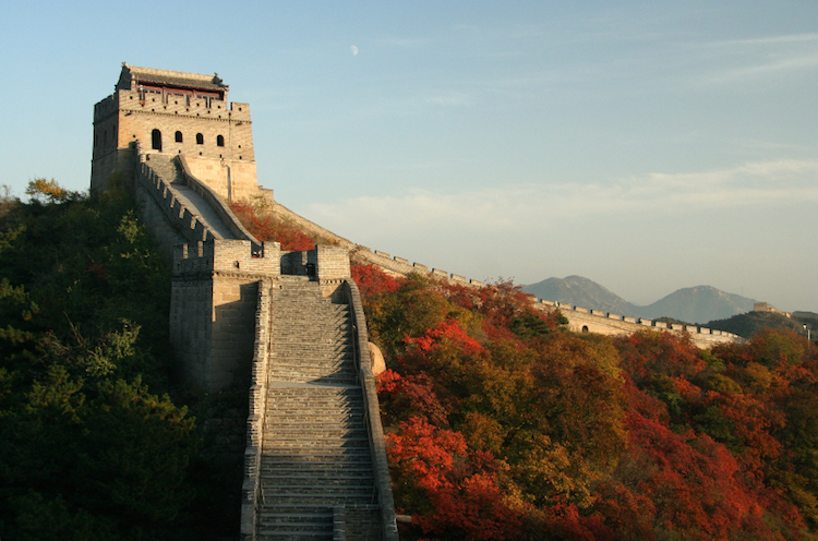 The Great Wall, China. Credit: iStock.com