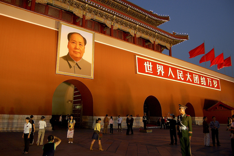Mao Zedong mausoleum, Beijing. Credit: roevin/Urban Capture/flickr.com.