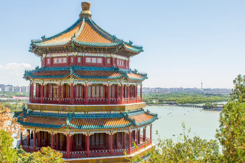 The Summer Palace pagoda, Beijing. Credit: iStock.com