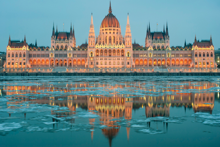 The Hungarian Parliament Building, Budapest. Credit: iStock.com
