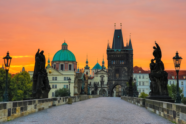 The Charles Bridge, Prague. Credit: iStock.com