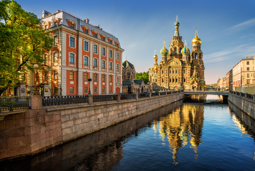 Cathedral of our Saviour on Spilled Blood, St Petersburg. Credit: iStock.com
