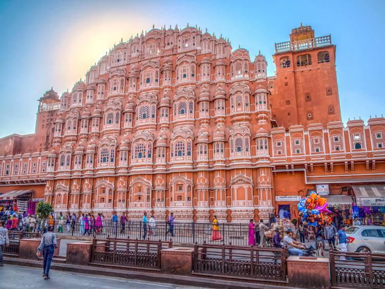 Hawa Mahal, Jaipur. Credit: iStock.com