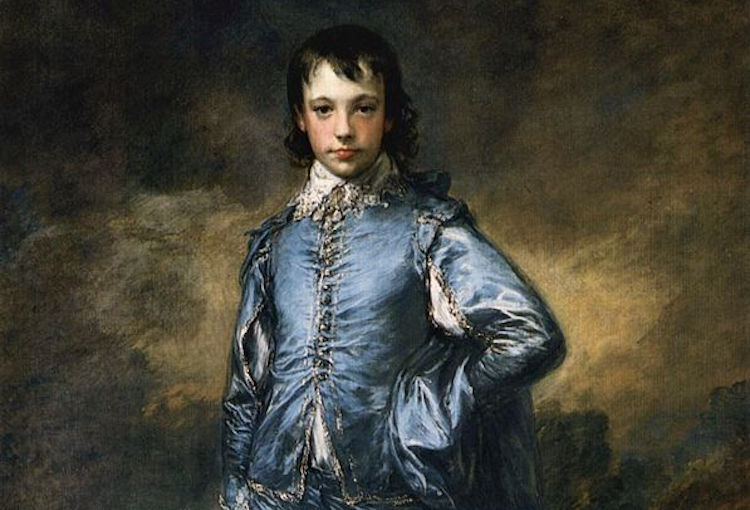 The Blue Boy by Thomas Gainsborough, The Huntington Library and Museum. Credit: public domain.