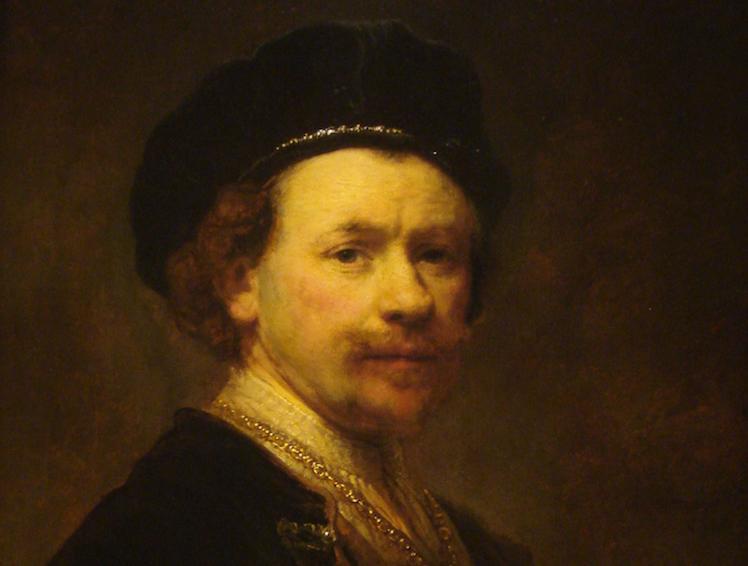 Self Portrait c. 1638 by Rembrandt, Norton Simon Museum. Credit: public domain.