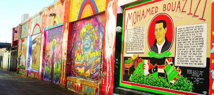 Balmy Alley, Mission District, San Francisco. Credit: iStock.com