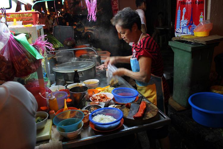Lebuh Chulia street food, George Town. Photo: Richard Lee/Flickr.com.
