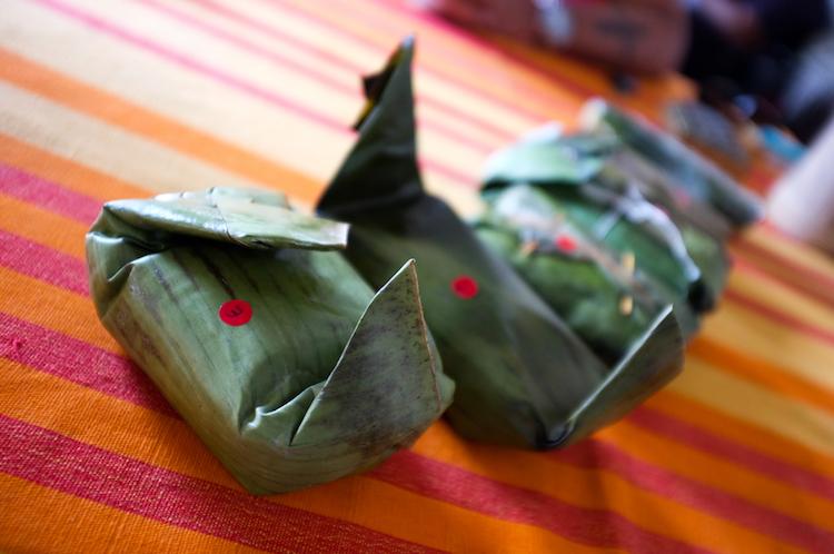 Banana-leaf wrapped lamprais. Credit: Indi Samarajiva/Flickr.com