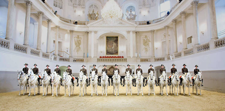 The Spanish Riding School, Vienna. Credit: Spanish Riding School / srs.at