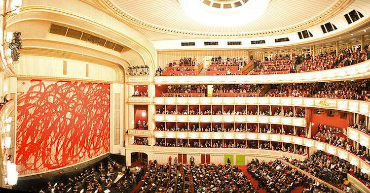 The Vienna State Opera (Wiener Staatsoper). Credit: WikiCommons