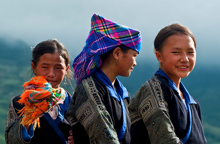 Hmong women in Sapa, northern Vietnam. Credit: iStock.com