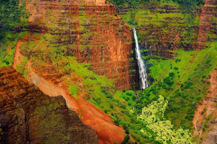 Waimea Canyon, Kauai. Credit: iStock.com