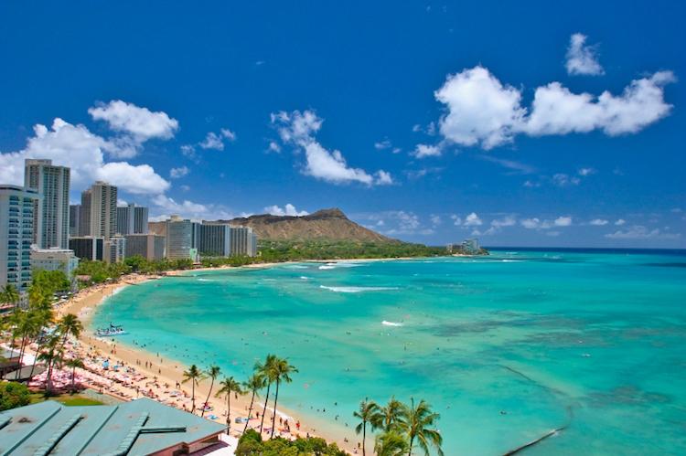 Waikiki, Honolulu. Credit: iStock.com