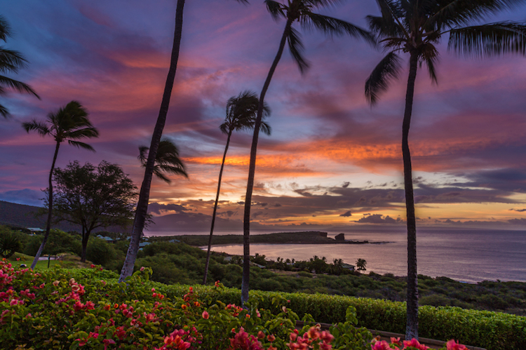 Sunrise on Lanai. Credit: iStock.com