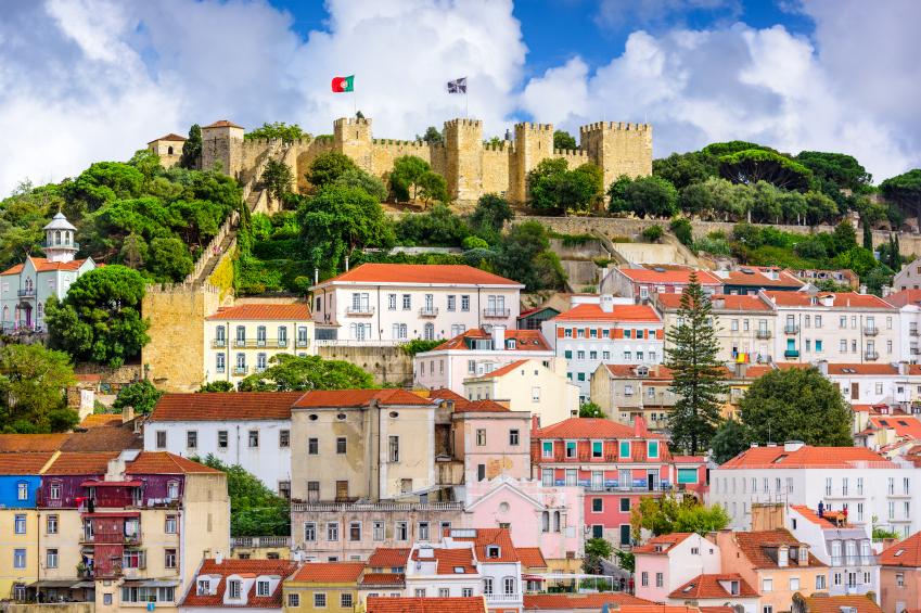 Castelo de São Jorge, Lisbon. Credit: iStock.com