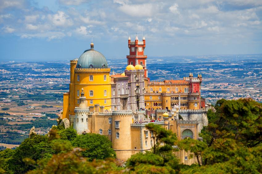 Pena National Palace, Sintra. Credit: iStock.com
