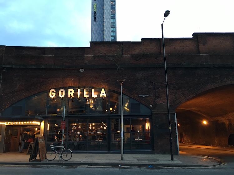 Gorilla bar and club, Manchester. Photo: Sarah Illingworth
