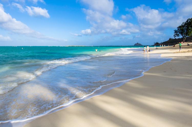Kailu Beach, Oahu. Credit: iStock.com