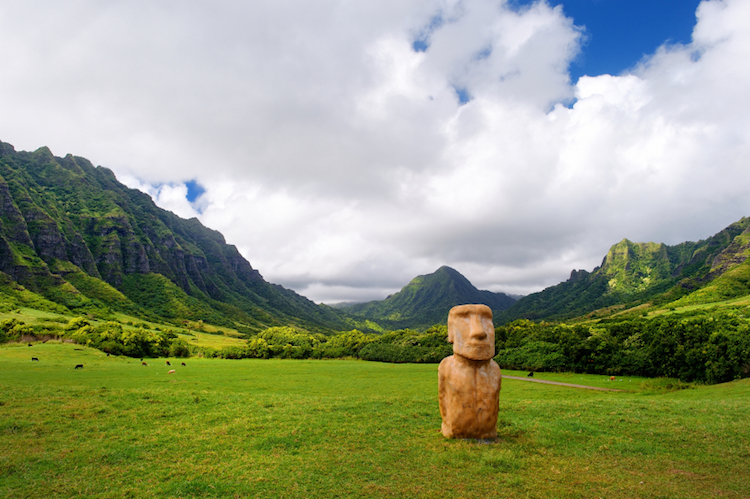 Kualoa Ranch, Oahu. Credit: iStock.com