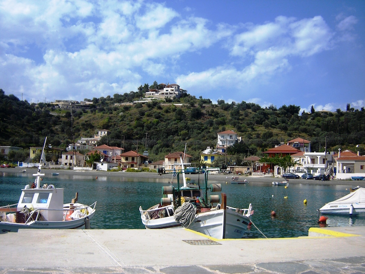 Picturesque harbour villages dot the Peloponnese. Credit: Diana Noonan