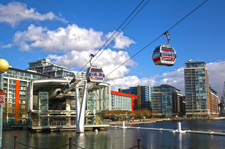 The Air Line cable car. Credit: iStock.com
