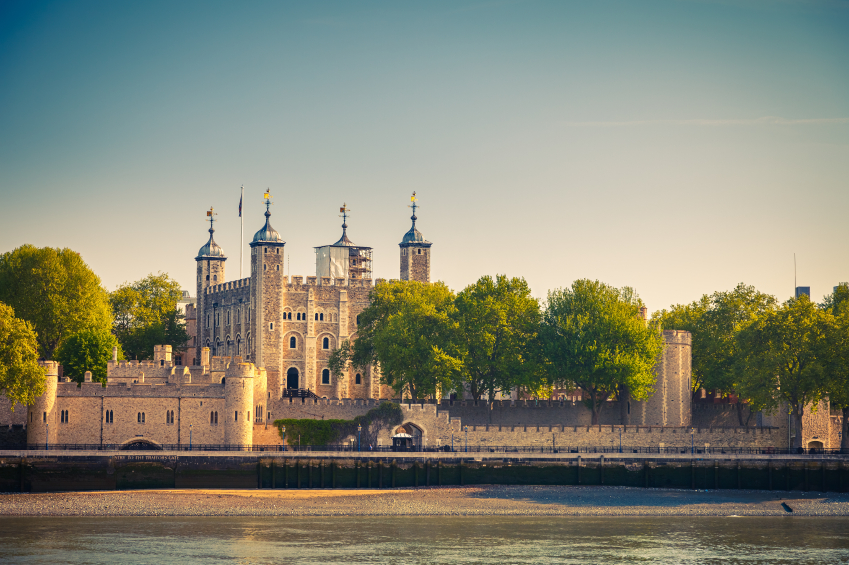 The Tower of London. Credit: iStock.com