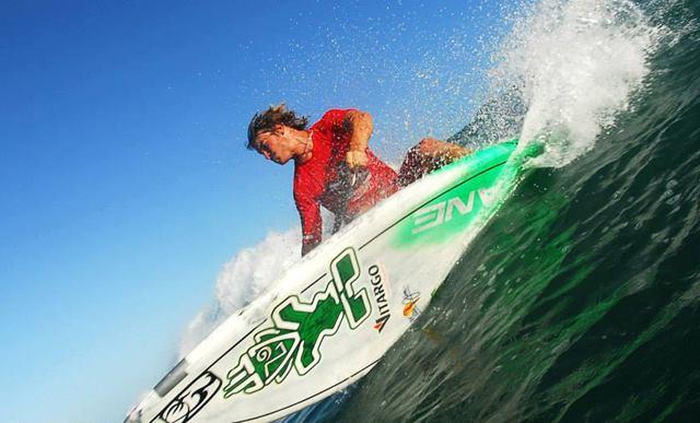 Zane Surfing. Image credit: www.facebook.com/ZaneKekoaSchweitzer