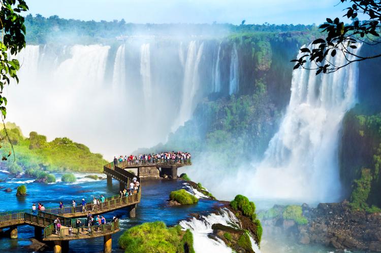 The Iguazu Falls. Photo: iStock