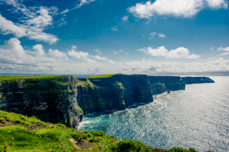 The Cliffs of Moher, County Clare. Photo: iStock