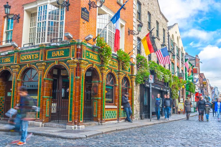 The Quays Bar, Dublin. Photo: iStock
