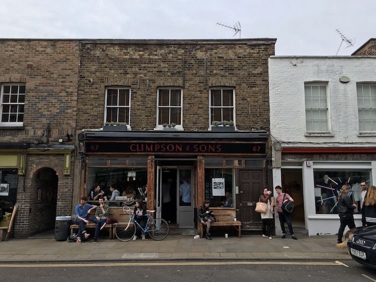 Climpson & Sons, Hackney. Photo: Sarah Illingworth