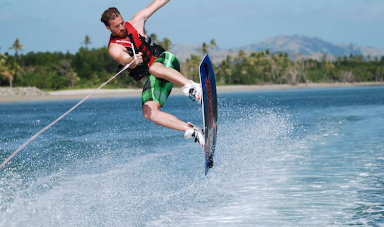 Wakeboarding in Fiji. Photo: adrenalinfiji.com
