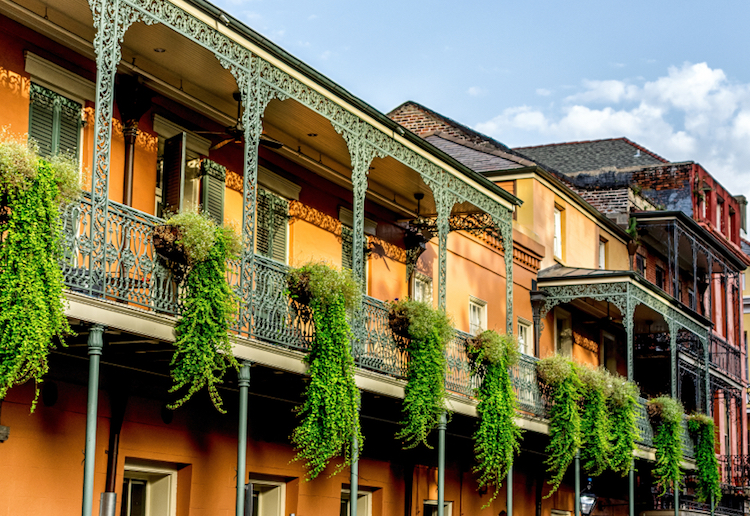 New Orleans architecture. Photo: iStock
