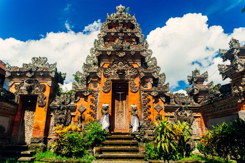 Puri Saren Agung palace, Ubud. Photo: iStock