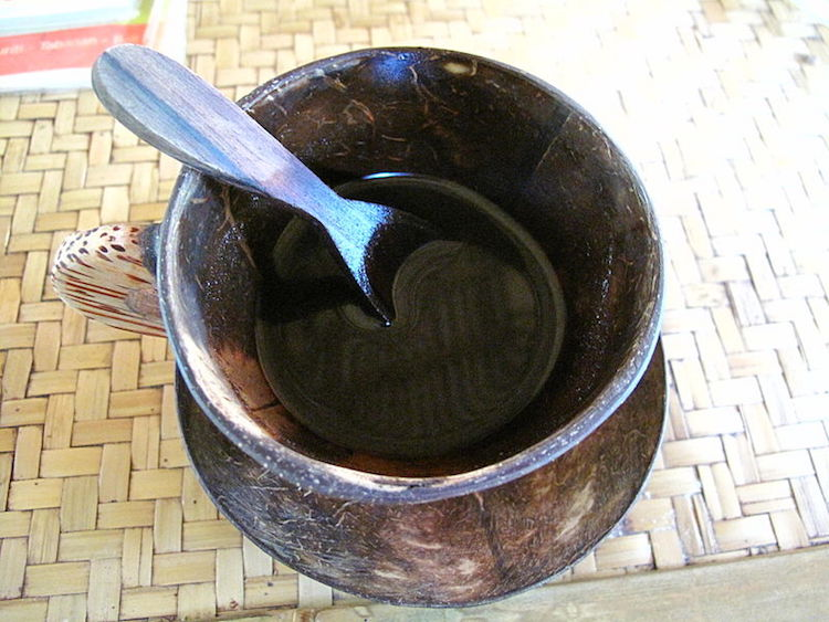 A cup of Balinese coffee in the Kintamani highlands. Photo: Ken Eckert / Creative Commons.