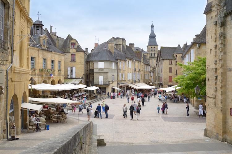 The historic town square in Sarlat, Dordogne. Photo: iStock
