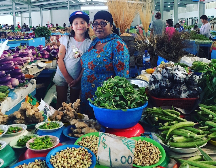 Nausori Farmer's Market, Suva. Photo: Anna King Shahab