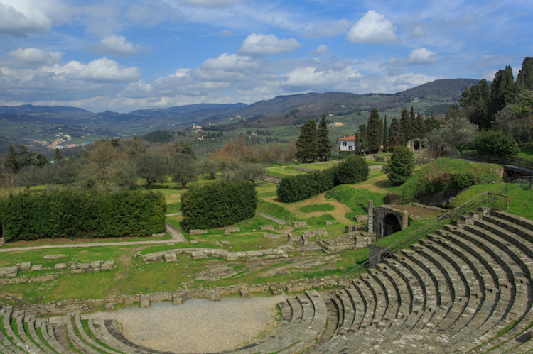 The ancient Roman theatre at Fiesole, Tuscany. Photo: iStock