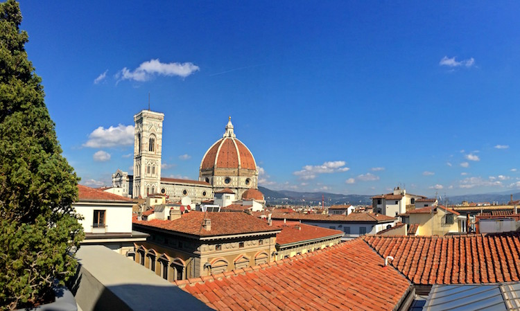 The view from La Rinascente department store. Photo: Sophie Smith