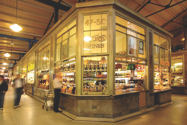 The Deli Hall at Queen Victoria Market. Photo: qvm.com.au