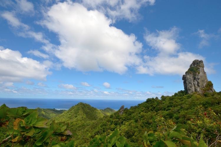 Te Rua Manga, the Needle, Rarotonga. Photo: iStock